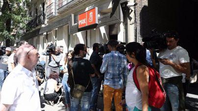 Un dispositivo policial vigilará la sede del PSOE para evitar enfrentamientos