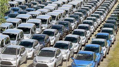 El aeropuerto de Son Sant Joan es el punto donde se recogen más coches