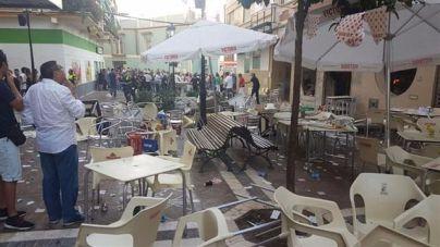 La explosión por escape de gas en Málaga se salda con 90 heridos