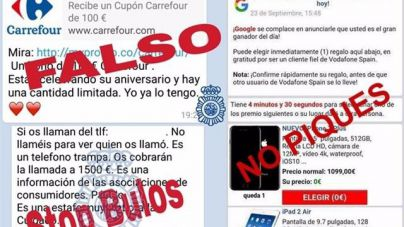 La policía alerta de las nuevas estafas en las redes sociales