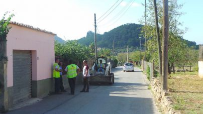 Andratx acondiciona la zona de Es Vinyet