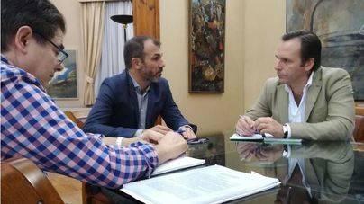 Barceló y Estarellas, durante la reunión de este jueves