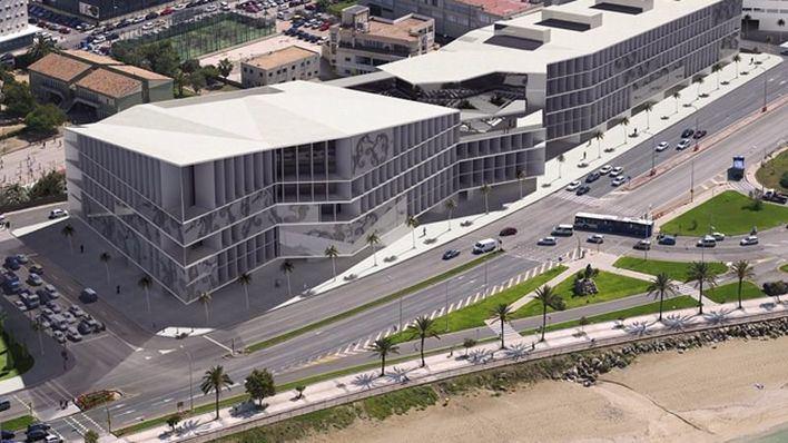 Palau y hotel están totalmente finalizados