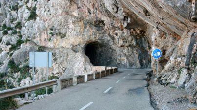 Un ciclista y un motorista heridos en el túnel de Formentor