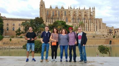 'Instagramers' británicos promocionan Mallorca