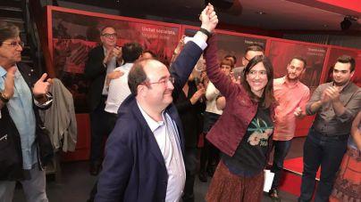 Miquel Iceta gana las primarias del PSC