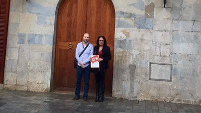 Los regidores de Ciudadanos en el ayuntamiento de Inca