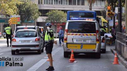 Once heridos en un bus de la EMT a causa de un frenazo