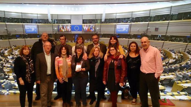 Las camareras de piso trasladan al Parlamento Europeo sus