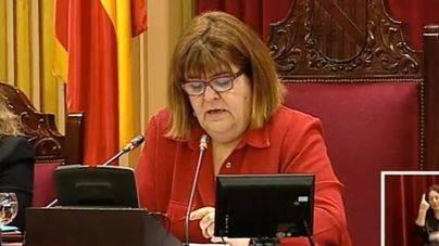 Xelo Huertas (Podem), presidenta del Parlament de les Illes Balears