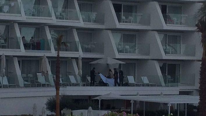 Un hombre muere al caer de un 6º piso de un hotel de Platja de Palma