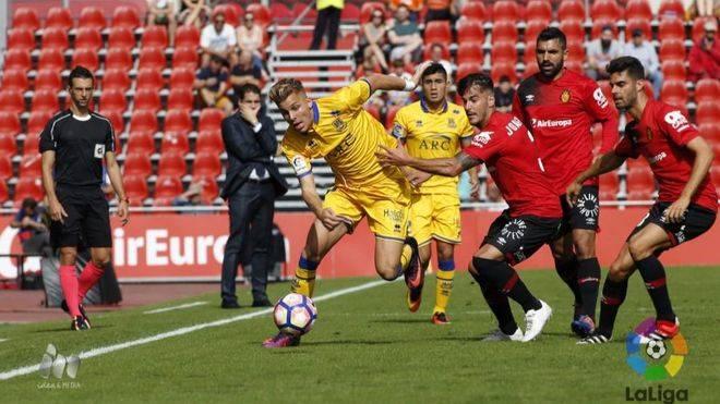 Los porteros y los penaltis han sido los protagonistas del partido en Son Moix