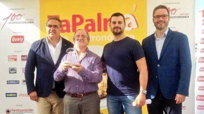 Ganadores del TaPalma 2016 junto a Jos� Hila y Alfonso Robledo
