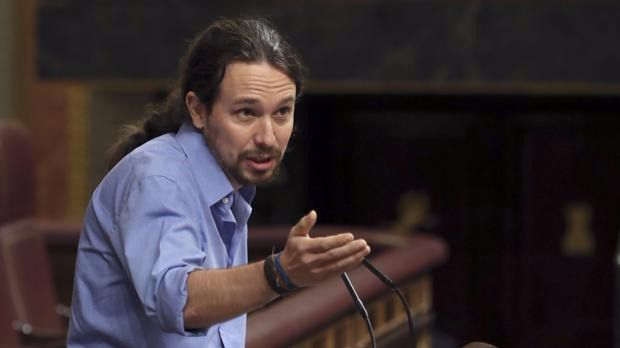 Iglesias considera que la abstención del PSOE da paso a la 'Gran coalición'