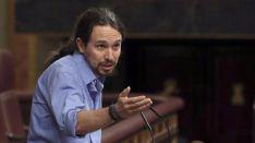 Iglesias considera que la abstenci�n del PSOE da paso a la