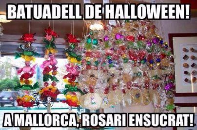 Por Todos los Santos, rosarios dulces