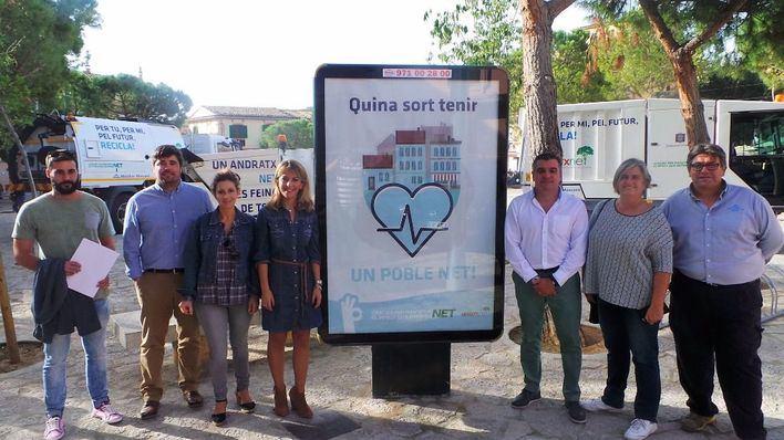 Andratx inicia una campaña de sensibización con la limpieza viaria
