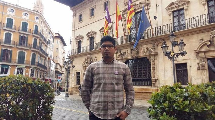 Aligi Molina se presenta como candidato a secretario general de Podem en Palma