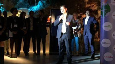 Ejecutivos internacionales de Expedia anoche en Palma