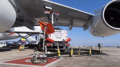 Arrancan sin incidencias los paros en el servicio de combustible del aeropuerto de Palma