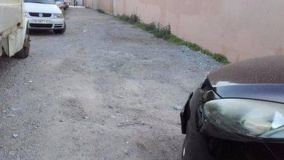 Los vecinos de S'Arenal denuncian la degradación de la zona: