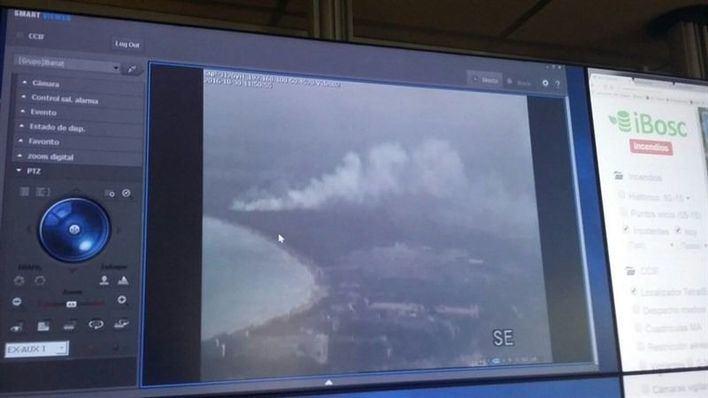 Es Capellans sufre dos incendios forestales en la misma zona en menos de 24 horas