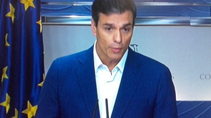 Pedro Sánchez lanza una web para recoger apoyos en el PSOE