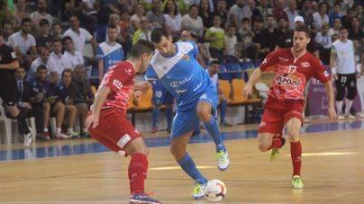El Palma Futsal rasca un punto 'in extremis' ante el Murcia
