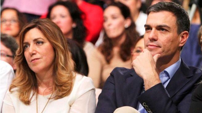 Sánchez reta a Susana Díaz a unas primarias