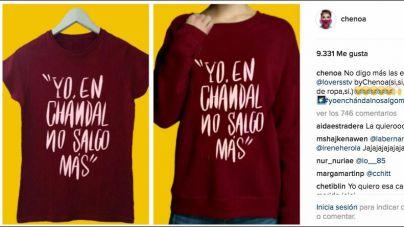 La nueva camiseta de Chenoa: 'Yo, en chandal no salgo más'