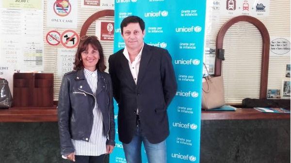 Ferrocarril de Sóller y UNICEF recaudan fondos para niños