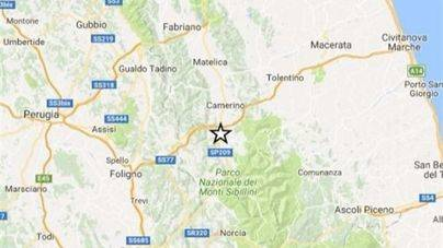 Un terremoto de magnitud 4,8 sacude de nuevo el centro de Italia