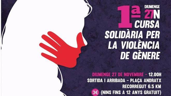Andratx correrá contra la violencia de género