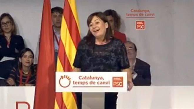 Armengol pide al PSOE que no rompa con el PSC