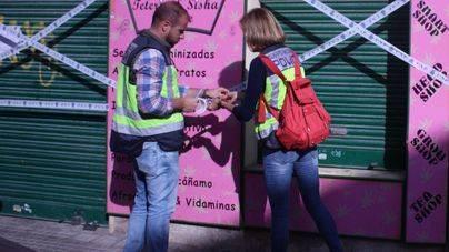 Dos detenidos en Palma por vender marihuana sintética a menores