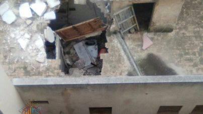 Cae el forjado de un edificio en la zona de la Plaza de Toros
