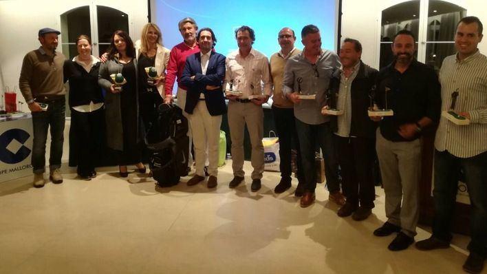 La pareja Modrok-Segner se impone en el 21 torneo Cope de golf