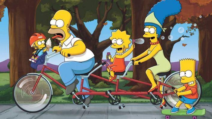 'Los Simpson' baten un récord en la televisión