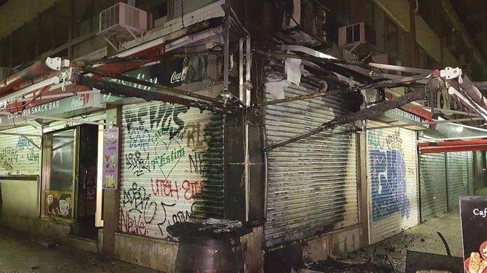 La Policía investiga una oleada de incendios intencionados en Palma