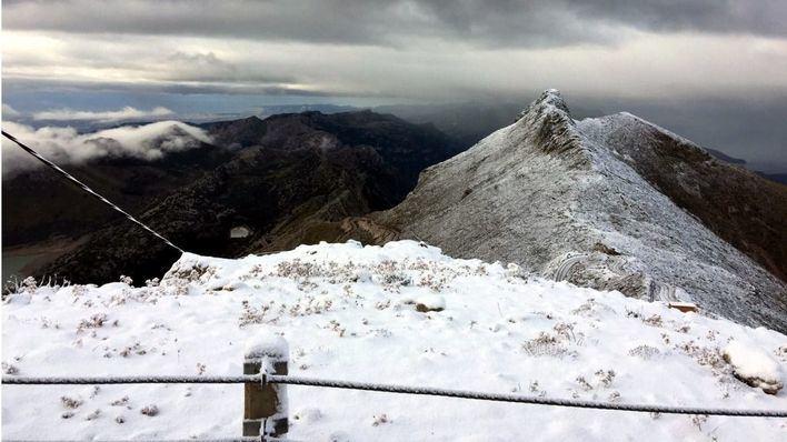 Nieva en la Serra