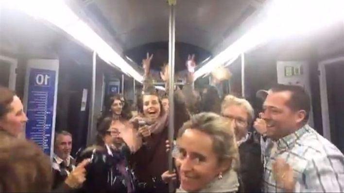 El Metro de Madrid se sube a la 'La Bicicleta'