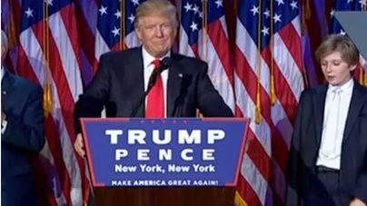 Trump es el nuevo presidente de EEUU