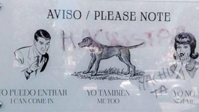 La barbería machista de Palma sigue prohibiendo la entrada a mujeres a pesar de las denuncias