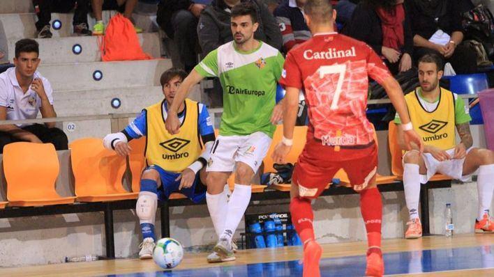 El Palma Futsal cae eliminado de la Copa (1-4)