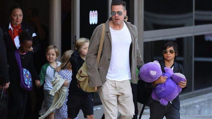 Brad Pitt queda libre de cargos por abusos a su hijo