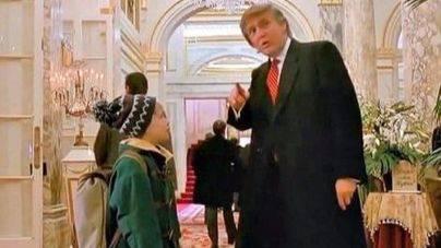 Trump hizo un cameo en una película