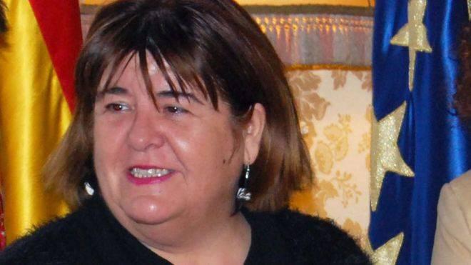 Huertas ha sido suspendida cautelarmente de Podem