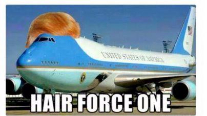 Un peluquín de altos vuelos