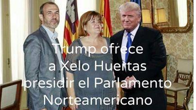Trump se apiada de Huertas y le ofrece un puesto en su nuevo gobierno