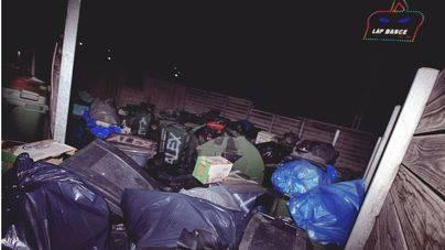 Basura acumulada en las calles